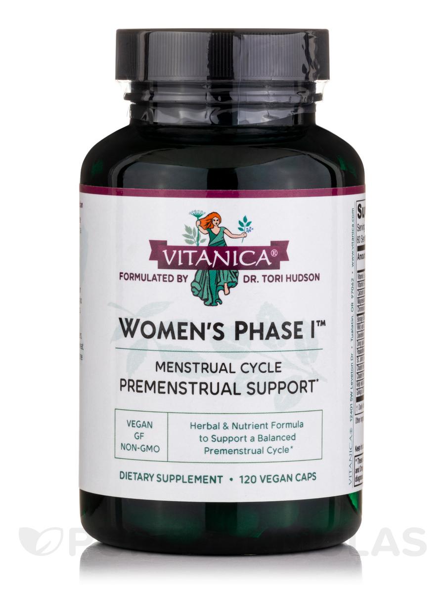 Women's Phase I - 120 Capsules