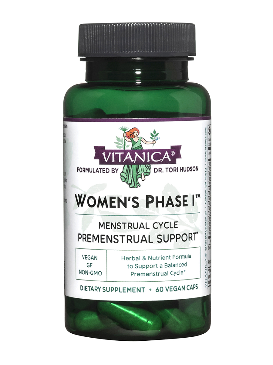 Women's Phase I - 60 Vegetarian Capsules