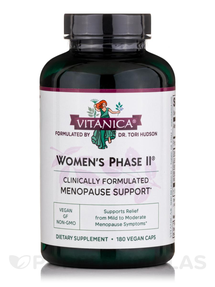 Women's Phase II - 180 Vegetarian Capsules