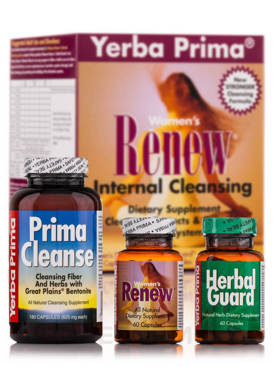 Women's Renew Internal Cleansing Program - 3 Pieces