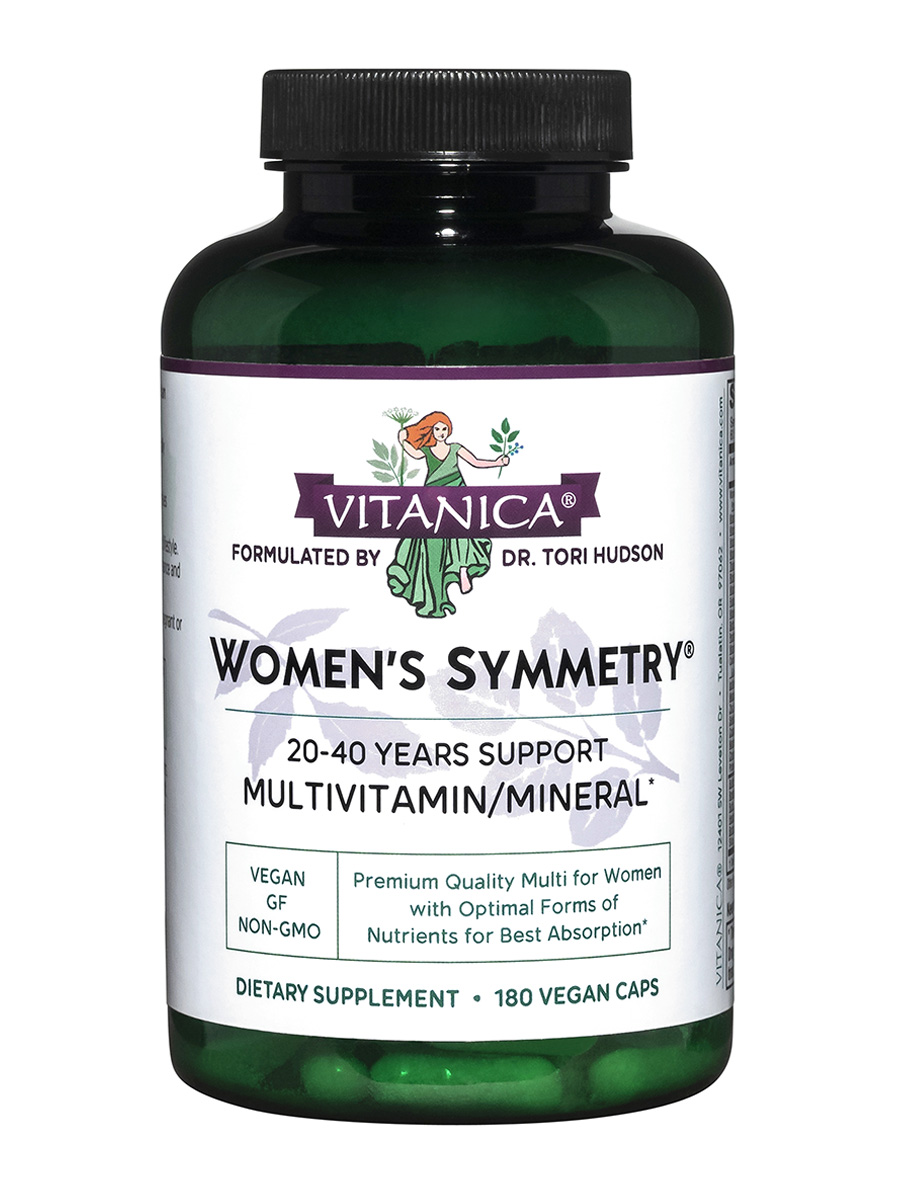 Women's Symmetry - 180 Vegetarian Capsules