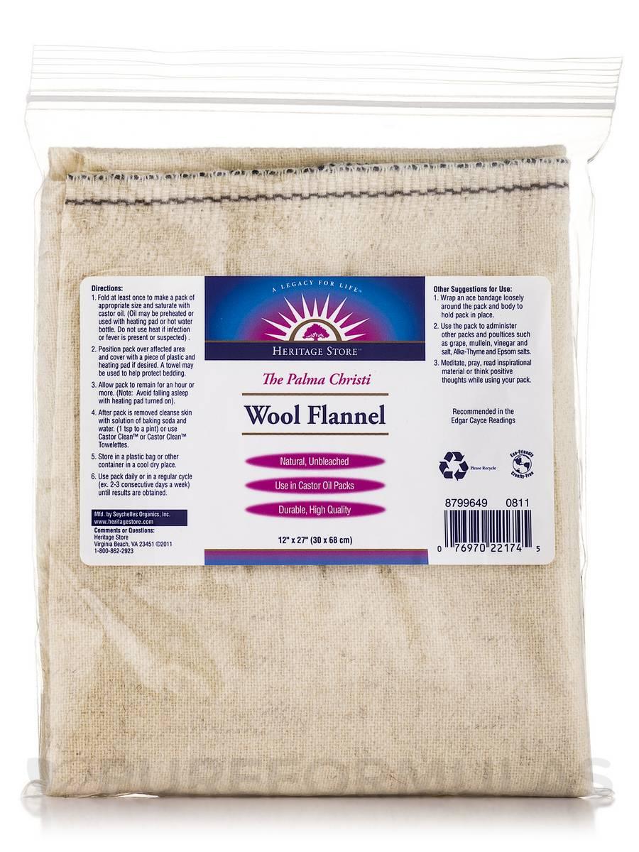 Wool Flannel - 12 x 27 in (30 x 68 cm)