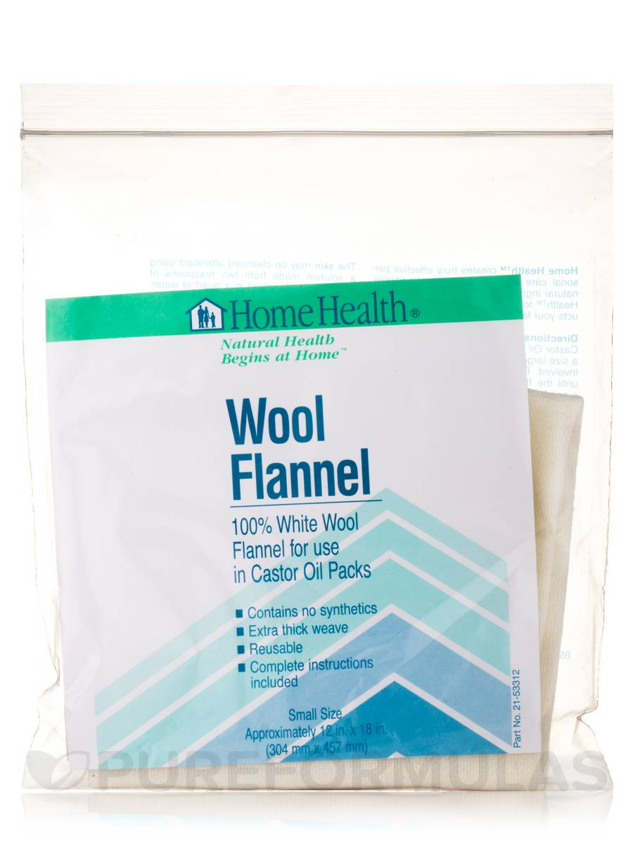 Wool Flannel (Small Size - 12 x 18 in) - 1 Count