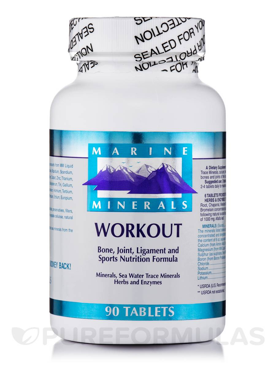Workout Sports Recovery - 90 Tablets