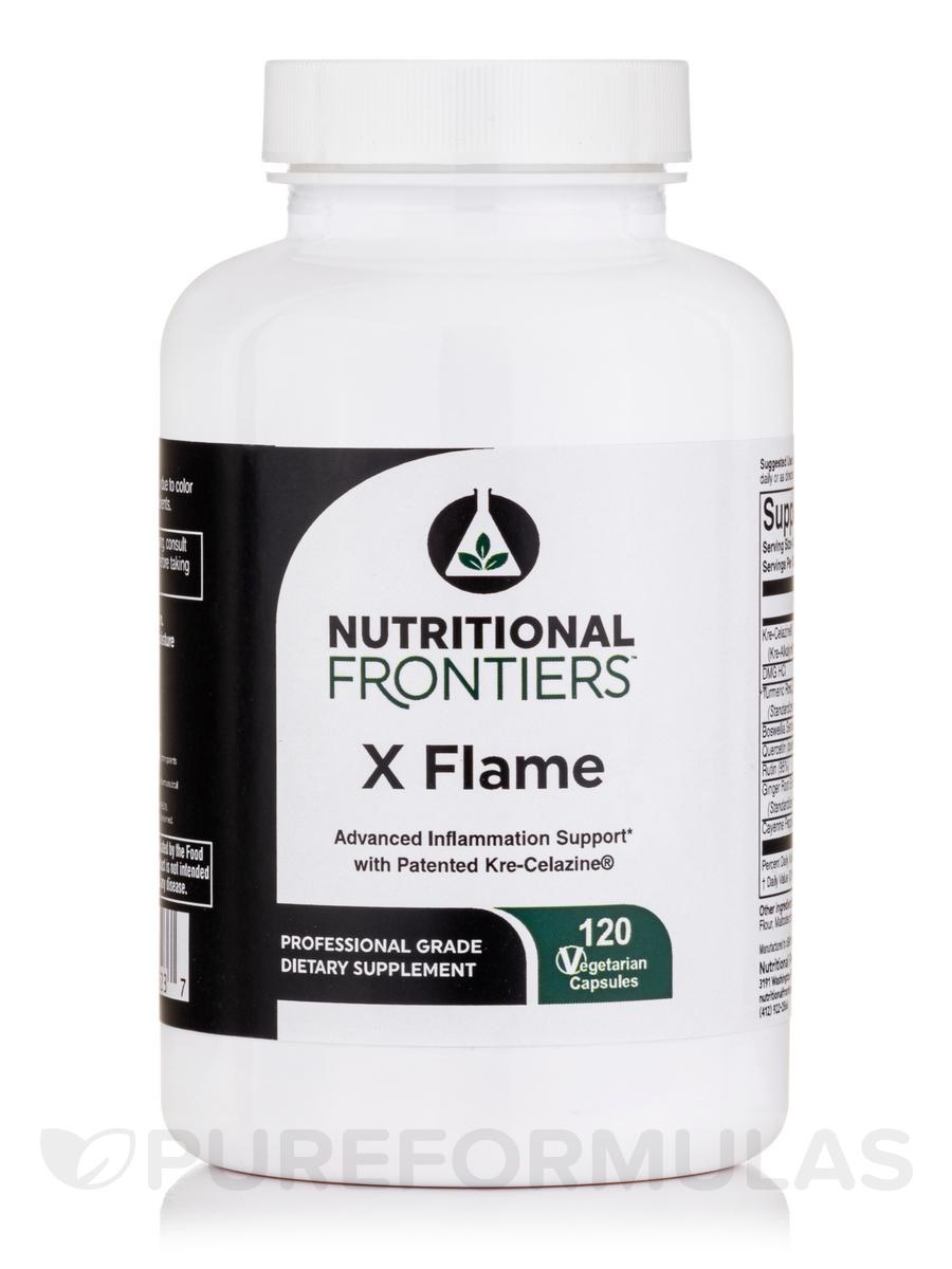 X Flame - 120 Vegetarian Capsules