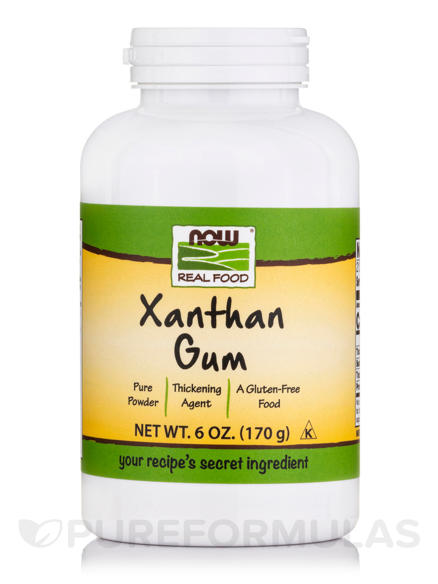 NOW® Real Food - Xanthan Gum Powder - 6 oz (170 Grams)