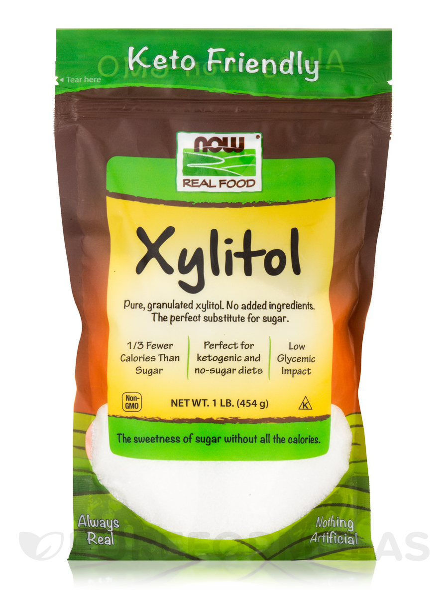 NOW Real Food® - Xylitol - 1 lb (454 Grams)
