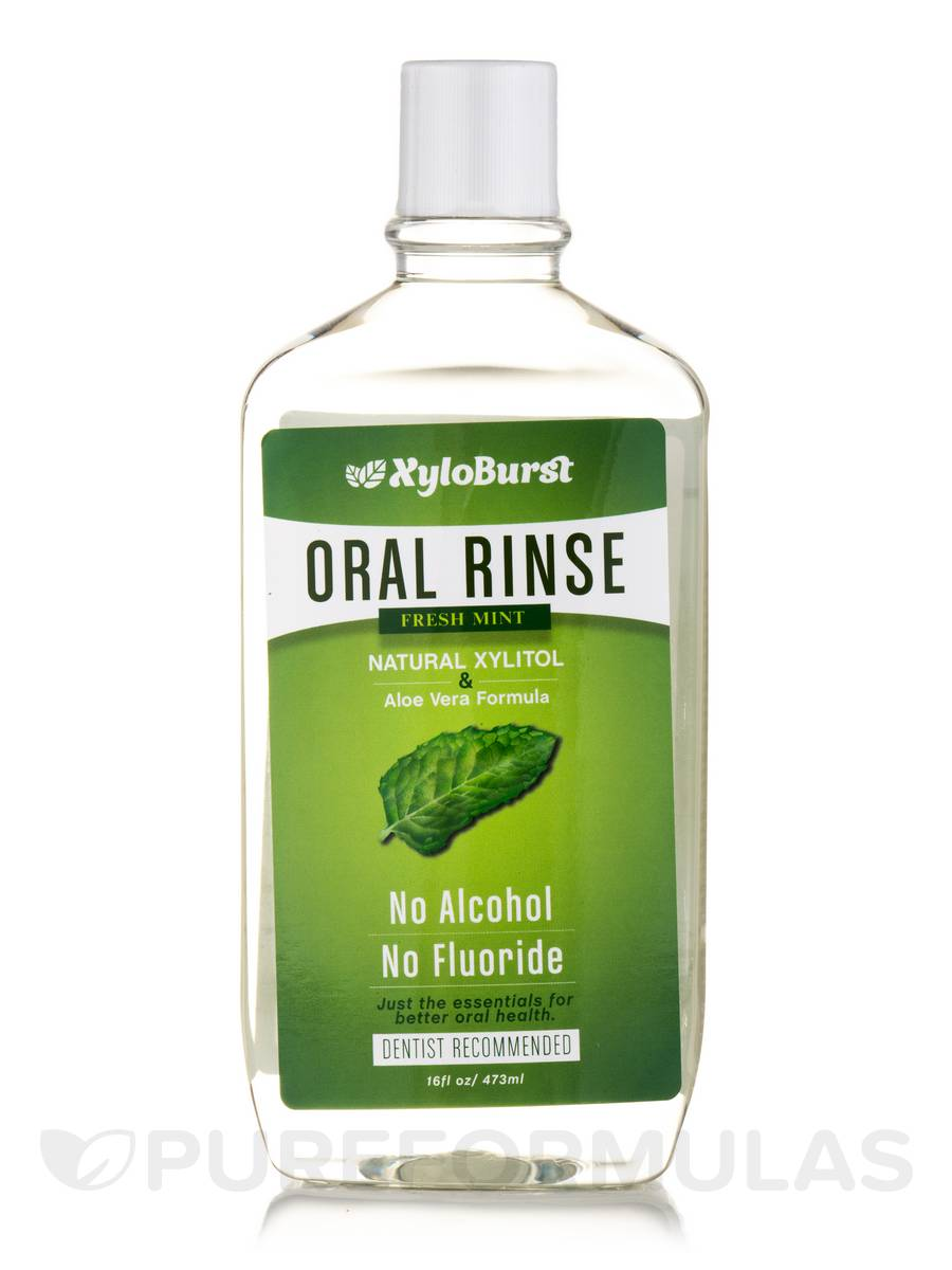 Xylitol Oral Rinse, Fresh Mint - 16 fl. oz (473 ml)