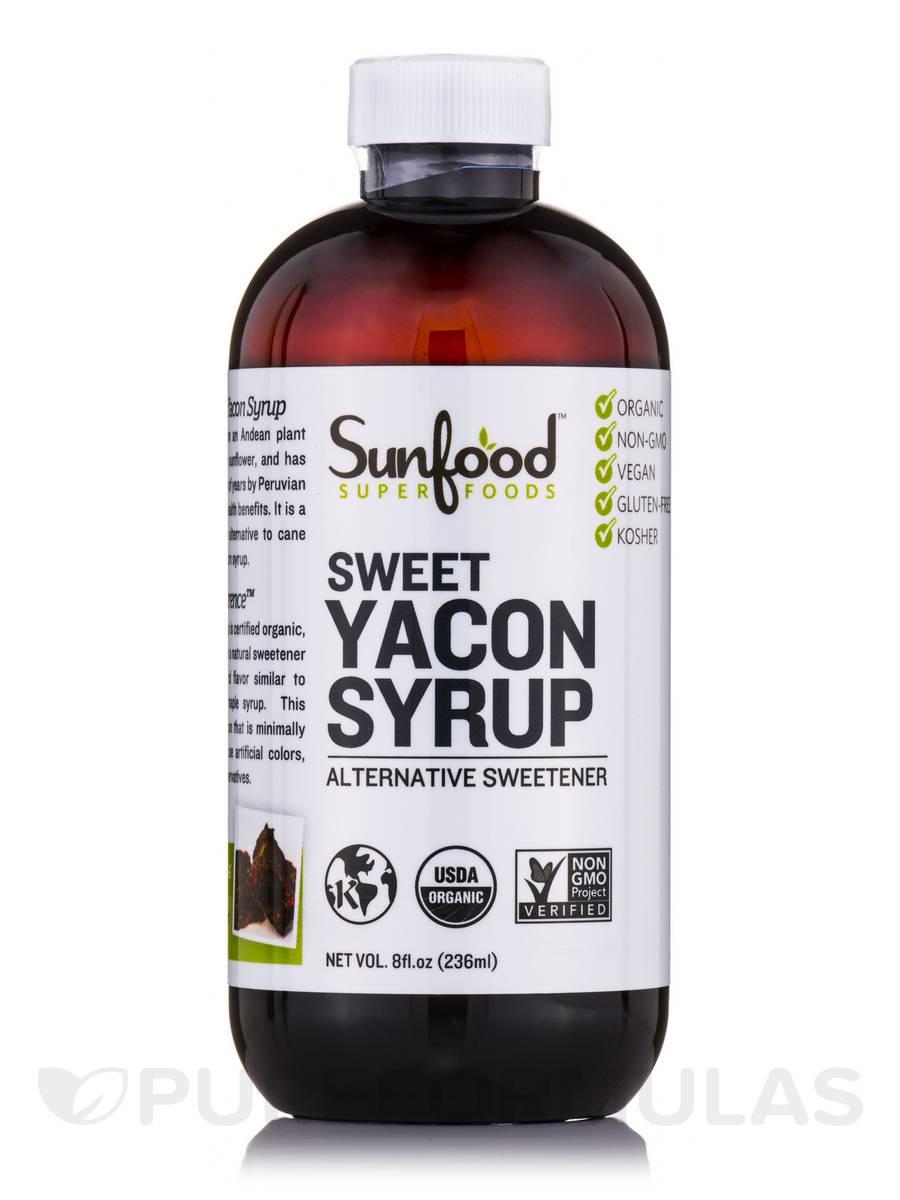 Sweet Yacon Syrup - 8 fl. oz (236 ml)