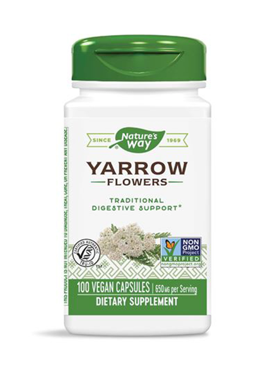 Yarrow Flowers - 100 Capsules