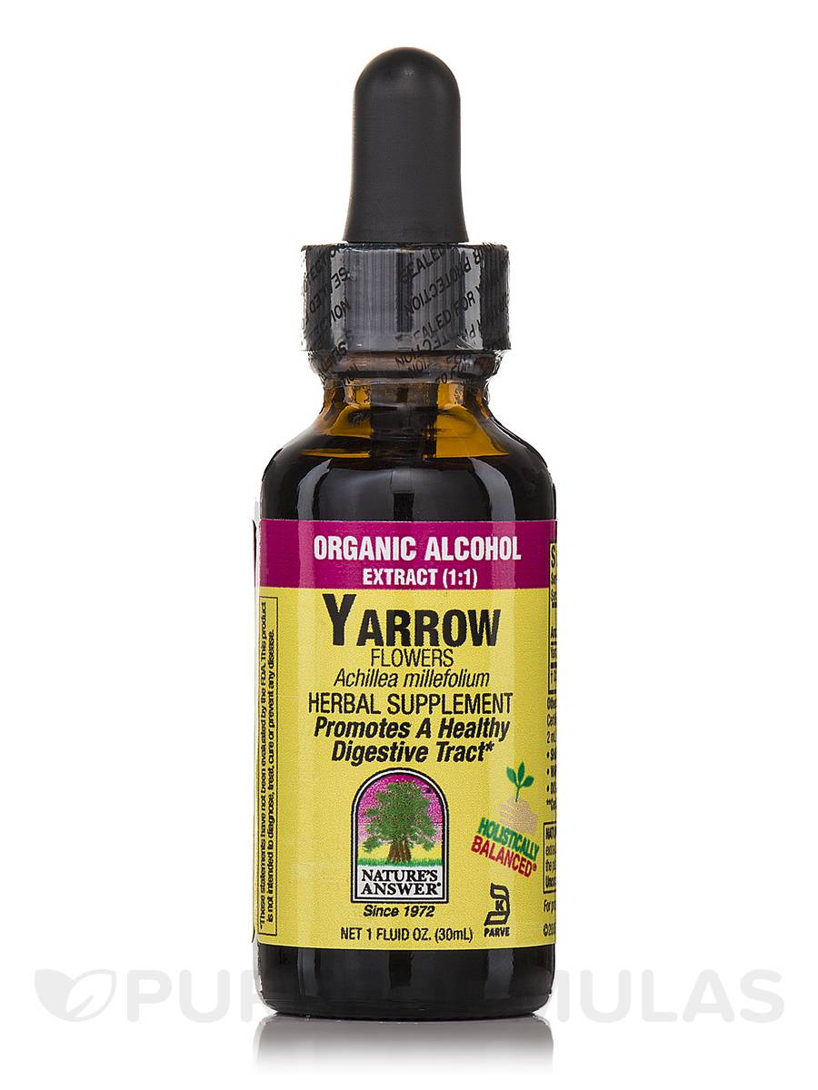 Yarrow Flowers Extract - 1 fl. oz (30 ml)