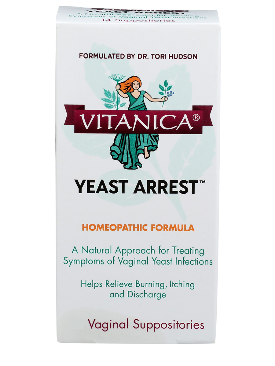 Yeast Arrest - 28 Vaginal Suppositories
