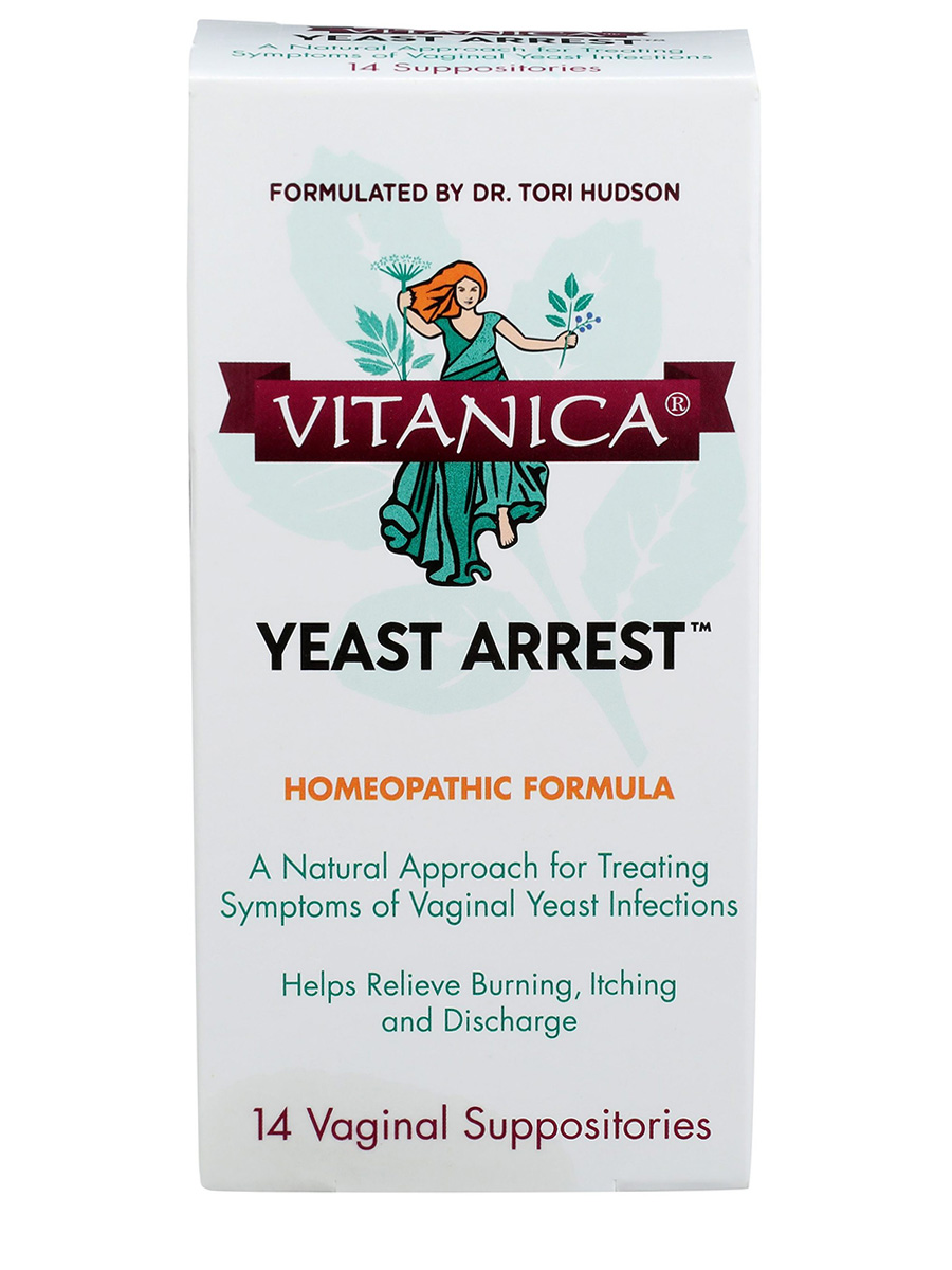 Yeast Arrest - 14 Vaginal Suppositories
