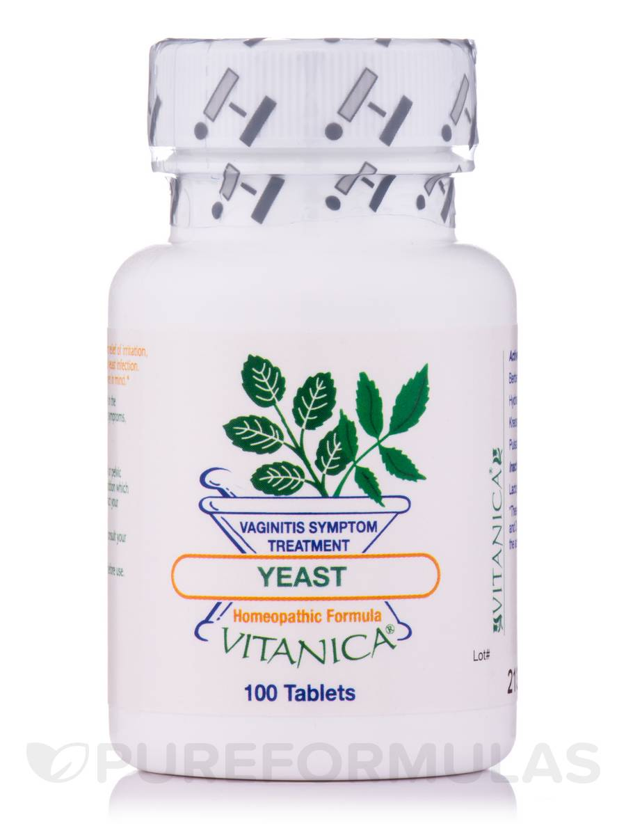 Yeast-Homeopathic - 100 Tablets