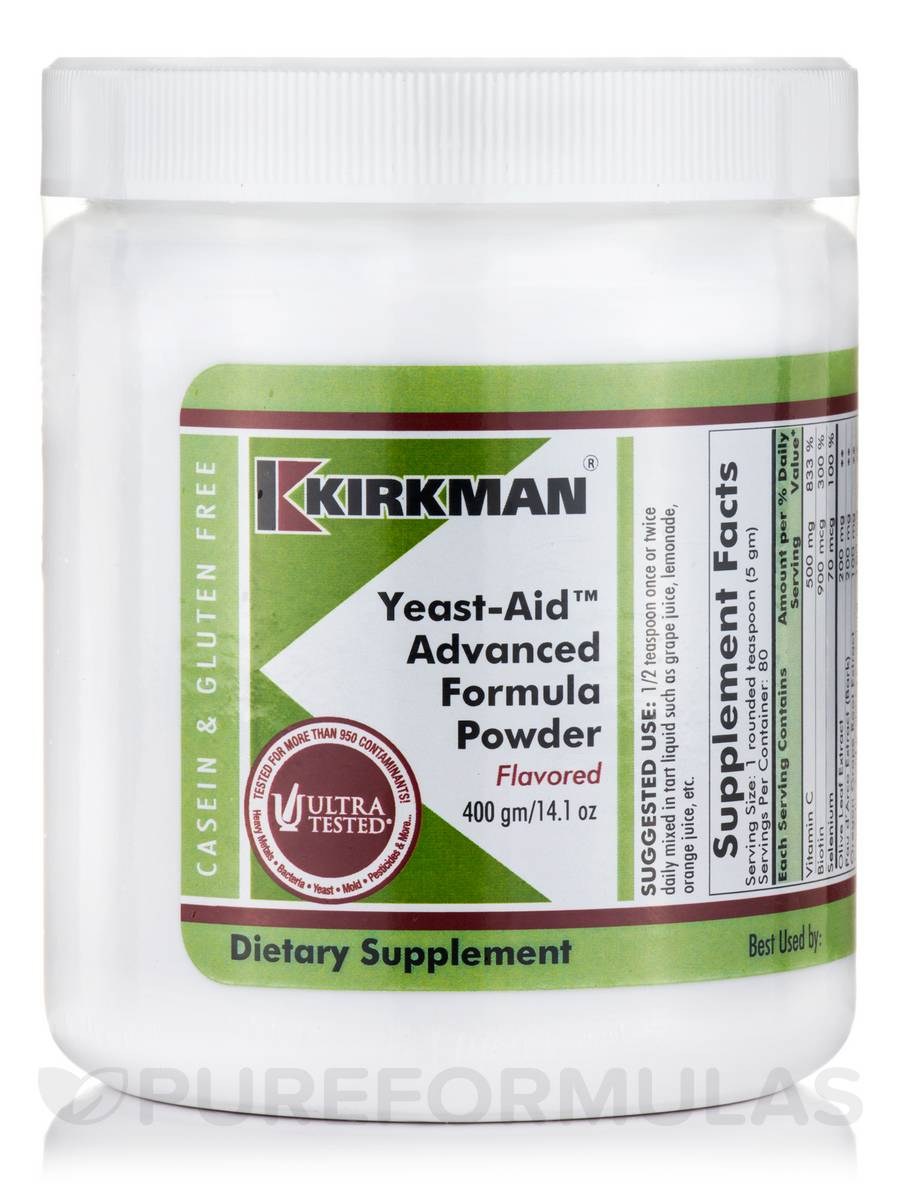 Yeast-Aid™ Advanced Formula Powder, Flavored - 14.1 oz (400 Grams)