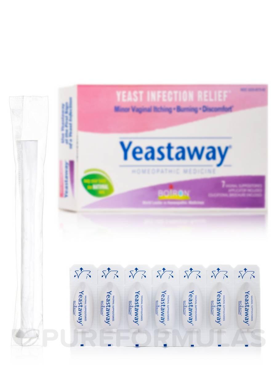 Yeastaway® (Yeast Infection) - 7 Vaginal Suppositories