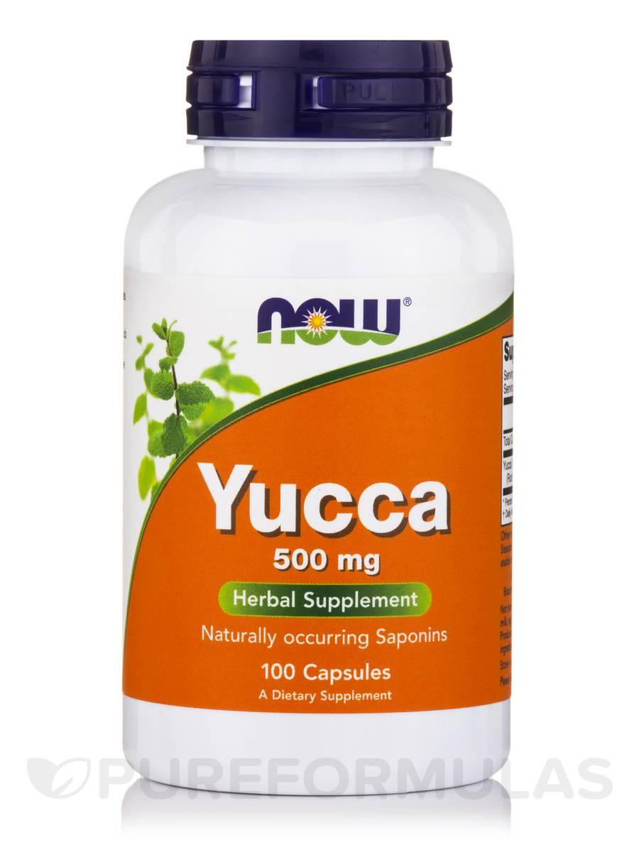 Yucca 500 mg - 100 Capsules
