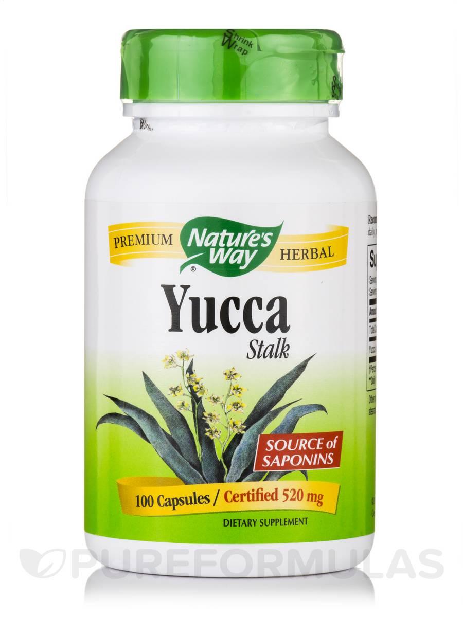 Yucca Stalk 520 mg - 100 Capsules