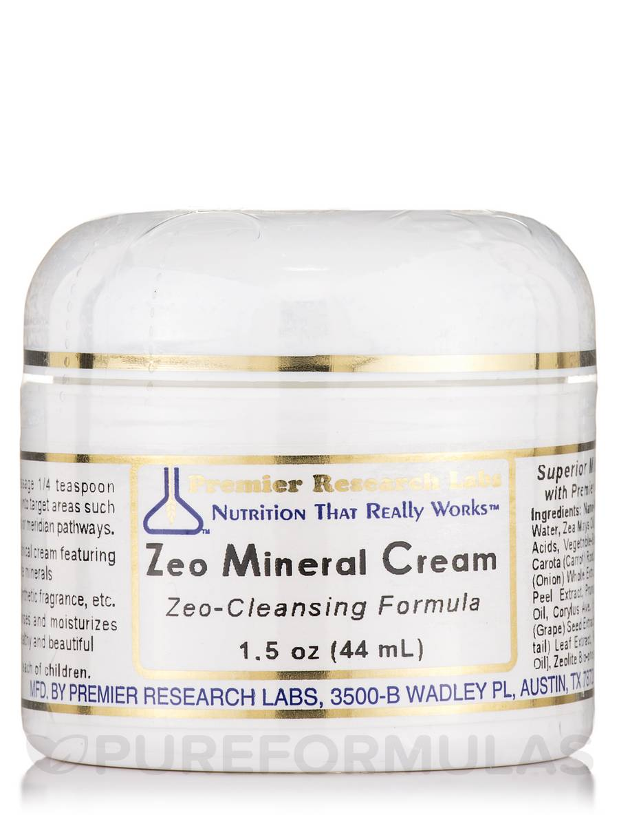 Zeo Mineral Cream - 1.5 oz (44 ml)