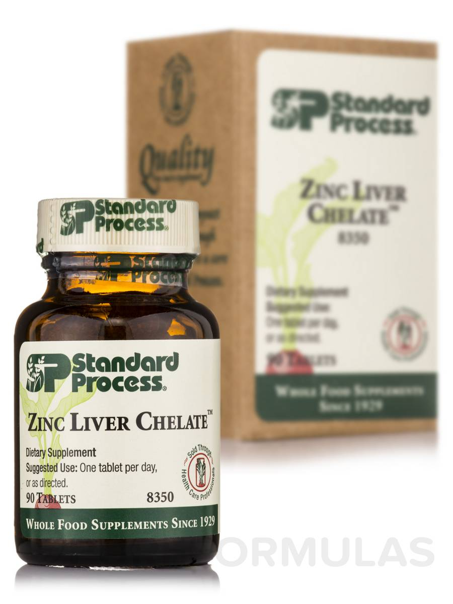 Zinc Liver Chelate™ - 90 Tablets
