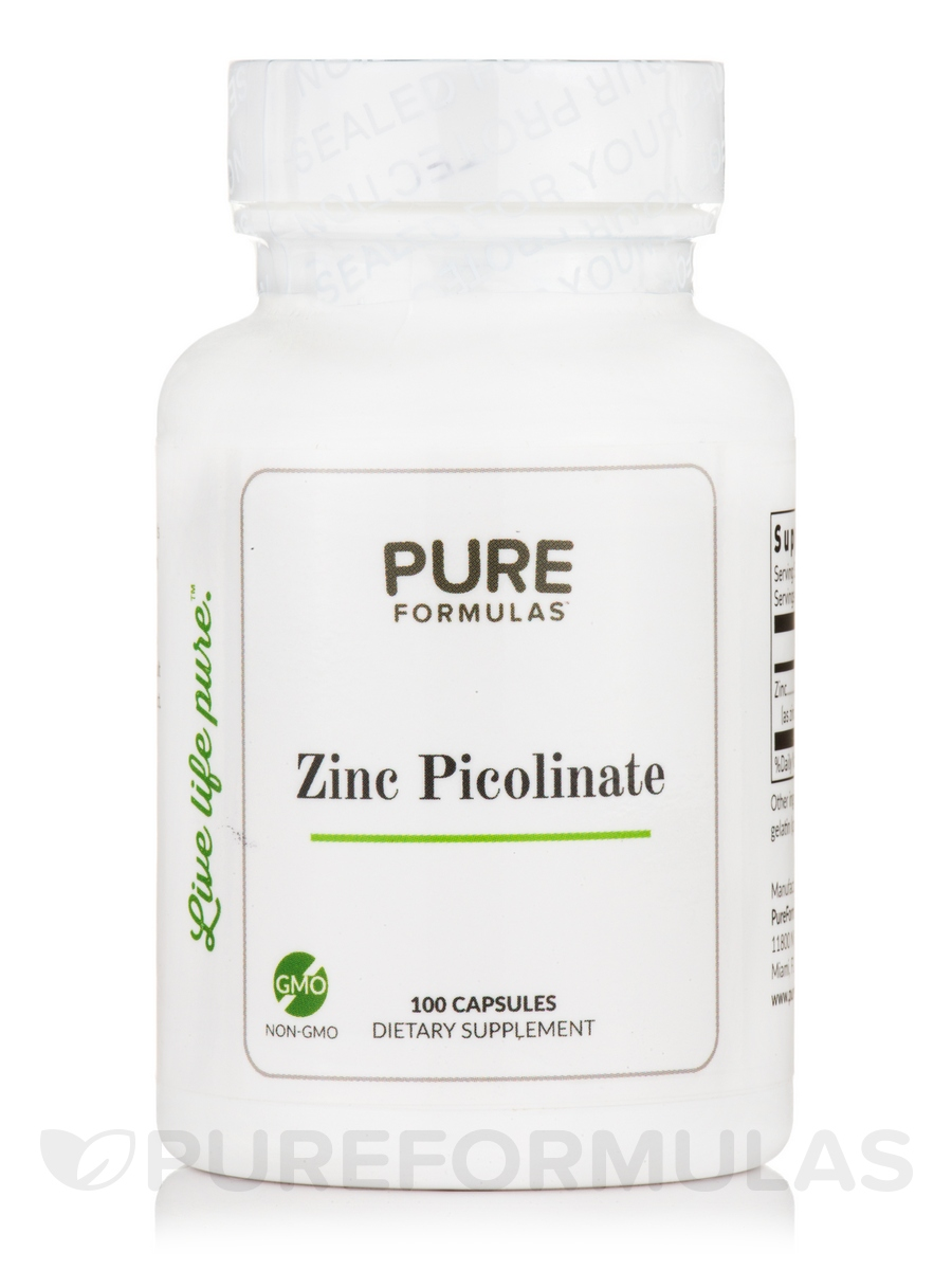 Zinc Picolinate - 100 Capsules
