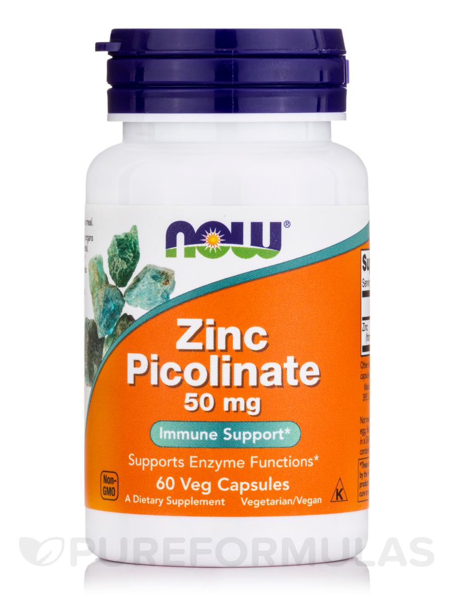 Zinc Picolinate 50 mg - 60 Veg Capsules