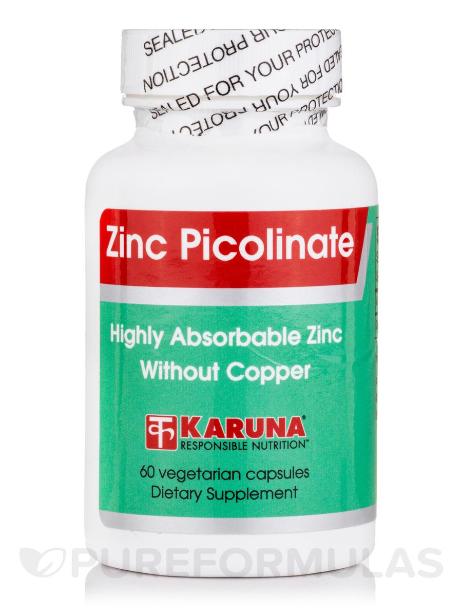 Zinc Picolinate - 60 Capsules