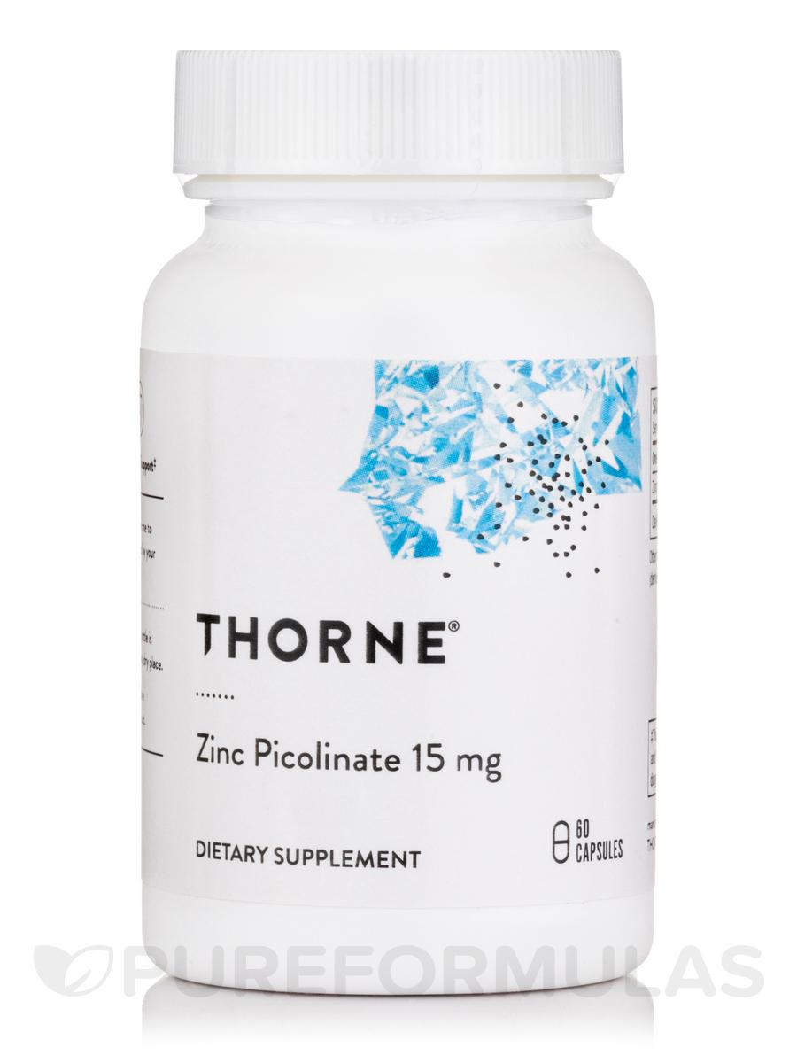 Zinc Picolinate 15 mg - 60 Capsules