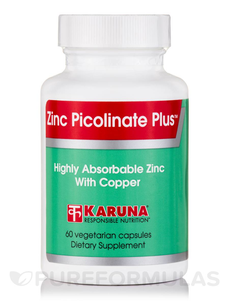 Zinc Picolinate Plus™ - 60 Vegetarian Capsules