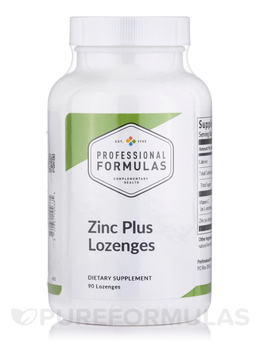 Zinc Plus - 90 Lozenges