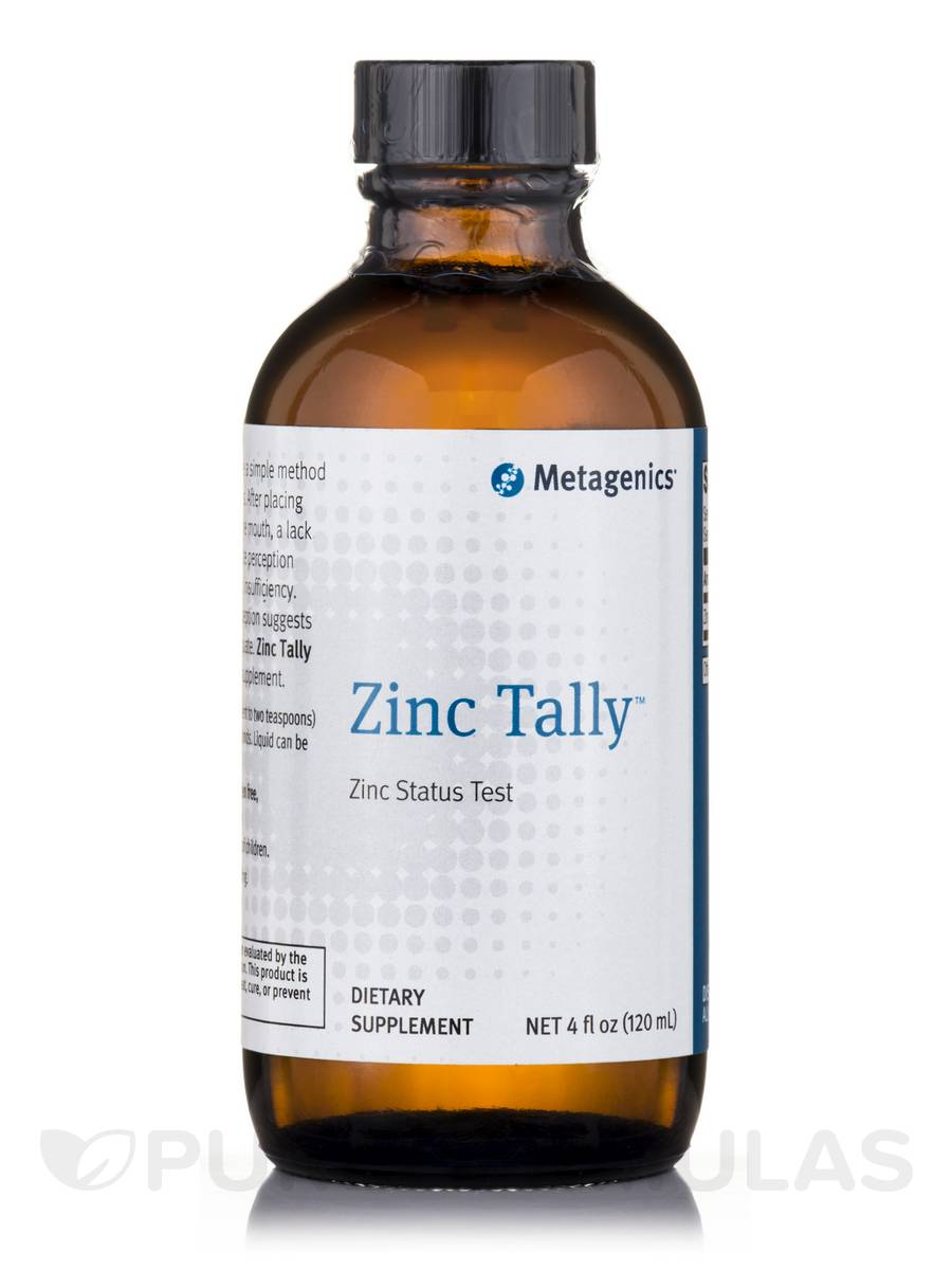 Zinc Tally™ - 4 fl. oz (120 ml)