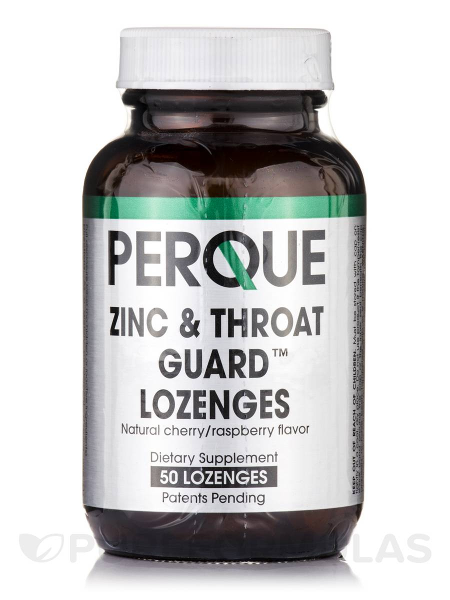 Zinc & Throat Guard - 50 Lozenges