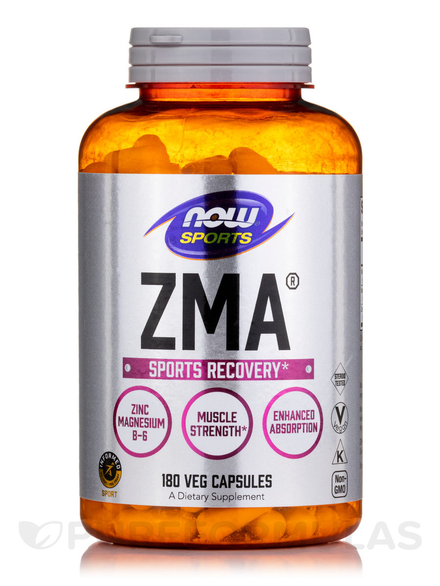 NOW® Sports - ZMA® Sports Recovery - 180 Capsules