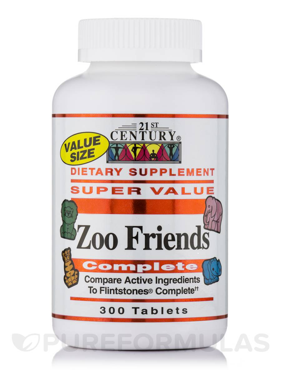 Zoo Friends Complete - 300 Tablets