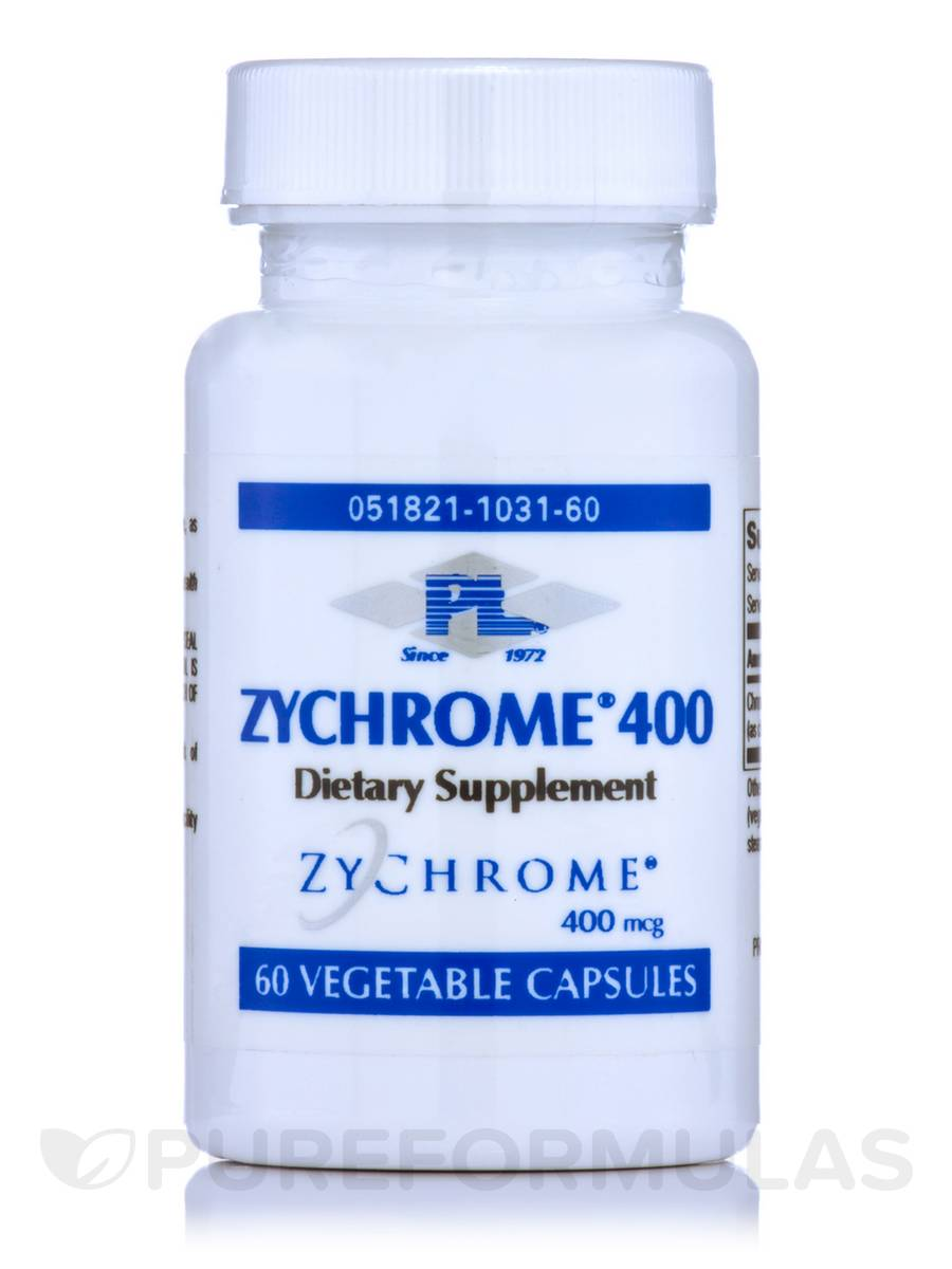 Zychrome 400 - 60 Vegetable Capsules