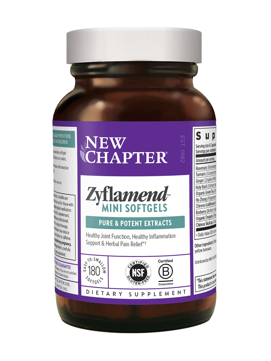 Zyflamend® Whole Body Mini Softgels - 180 Softgels