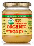 100% Certified Organic Honey (Raw, Unprocessed, Unpasteurized) - 16 oz (454 Grams)