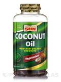 100% Coconut Oil - 180 Vegetarian Softgels