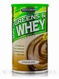 100% Greens & Whey Powder (Chocolate) - 10.7 oz (305.9 Grams)