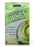 100% Greens & Whey Powder (Vanilla) 10 Packets