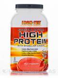 Essential Natural High Protein with Micellar Casein, Wild Strawberry - 28 Servings (36.3 oz / 1030 G