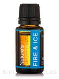 100% Pure Fire & Ice Muscle Blend - 15 ml