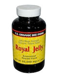 Ultra Mega Strength Freeze Dried Royal Jelly 60,000 (Powder Form) - 2.1 oz
