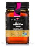 100% Raw Beechwood Honey - 17.6 oz (500 Grams)