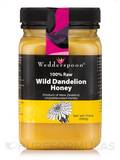 100% Raw Dandelion Honey - 17.6 oz (500 Grams)