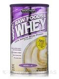 100% Raw Foods and Whey Powder (Vanilla) 13 oz