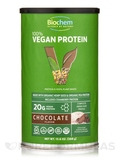 100% Vegan Protein Powder, Chocolate Flavor - 13.6 oz (388 Grams)