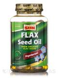 100% Vegetarian Flax Seed Oil - 90 Vegetarian Softgels