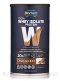 100% Whey Isolate Protein Powder, Chocolate Flavor - 15.4 oz (439 Grams)
