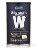 100% Whey Isolate Protein Powder, Natural Flavor - 12.3 oz (350 Grams)